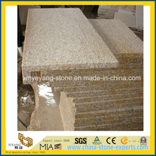 G682 Sunset Gold Granite Bushhammer Border Tiles