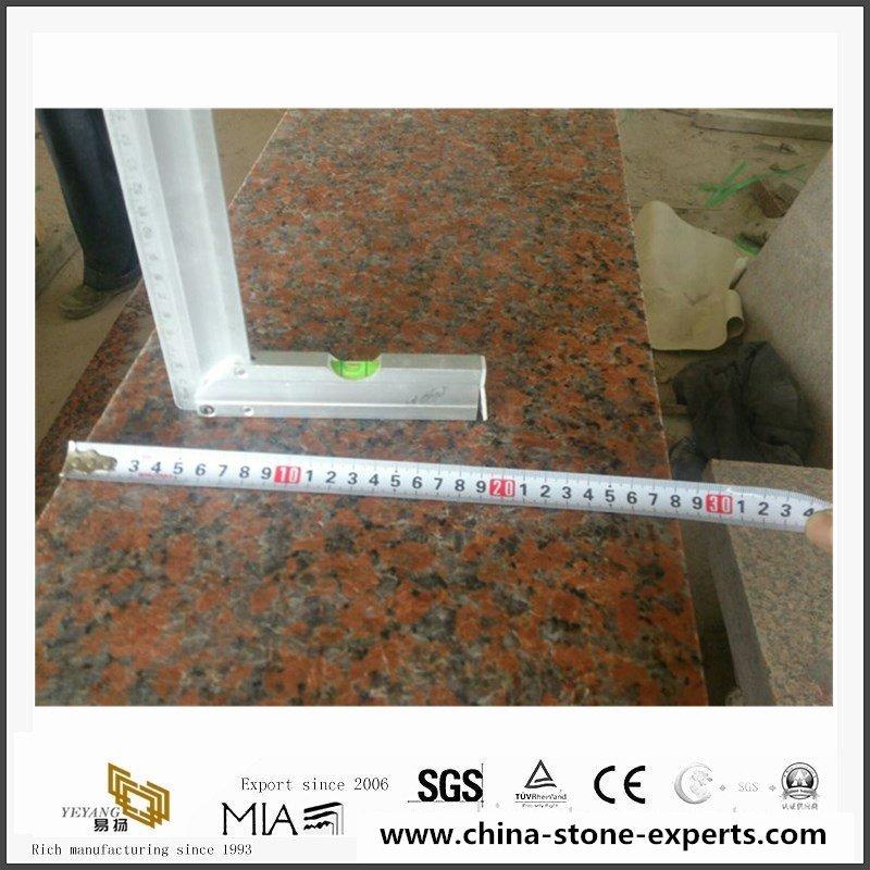 China Popular Marple Red G562 Granite for Kitchen, Bathroom5