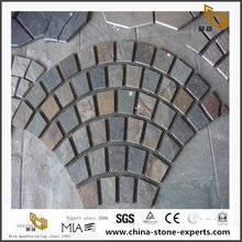 Fan Shape Paving Stone with Wholesale Cheap cost
