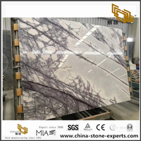 Polished Lilac Marble Slab Supply by Yeyang Stone