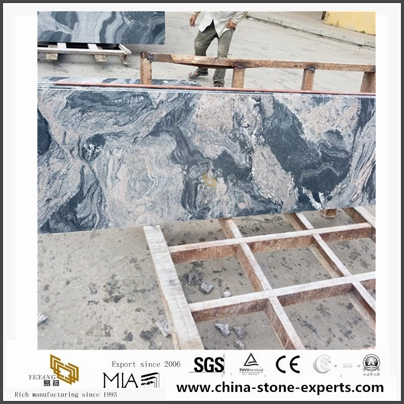Multicolor Grey Granite Slabs