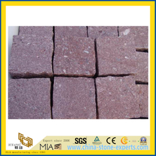Natural Red Porphyry Kerbstone Paving Stone