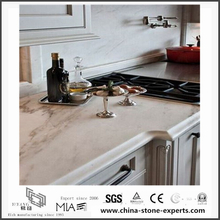 New Custom Arabescato Venato White Marble Countertops for Kitchen/Bathroom (YQW-MSA052501)