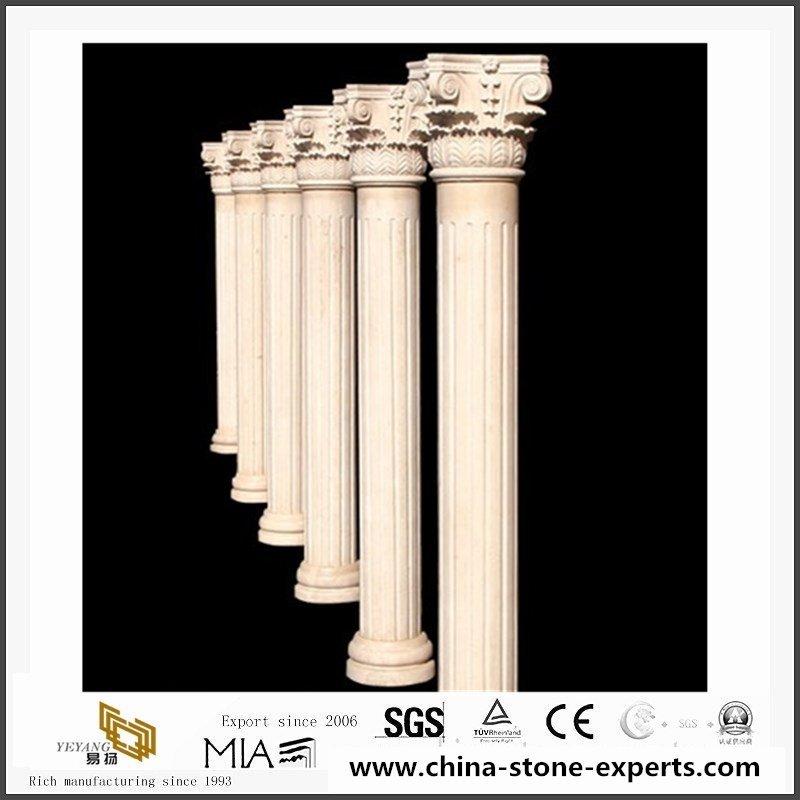 architectural-beige-granite-columns-and1