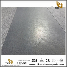Hainan Grey Basalt Brushed Tiles Finish