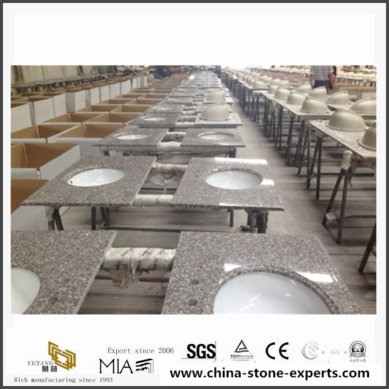China G664 Misty Brown Granite Counter Tops With cheap Price7