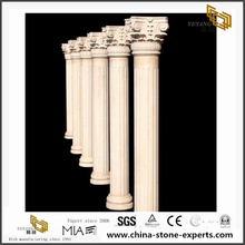 Architectural Beige Granite columns and pillar for Exterior Decorative