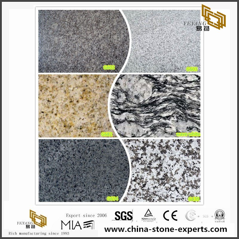 Natural Granite pavers from China factory For Outdoor Project