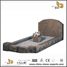 Cheap granite headstones in thin stone slabs for UK market