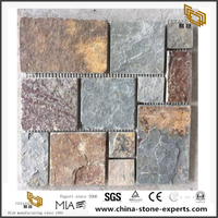 Tumbled Marble Mosaic Tiles Natural Stone Backsplash Tiles Wholesale