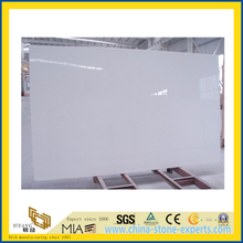 White Micro Crystalized Glass Quartz for Countertop (YQC)