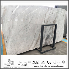 Inexpensive New Polished Arabescato Venato White Marble for Countertops (YQW-MSA0621004)