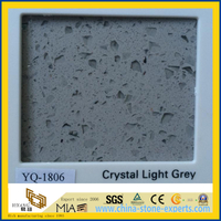 Crystal Grey Quartz for Kitchentop or Kitchen Island Top