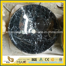 Negro Marquina / Black Marquina Marble Above Counter Basin for Bathroom