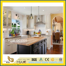 Grey Polished Granite Stone Countertop for Kitchen / Hotel