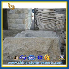 G682 Rust Gold Granite Mushroom Stone for Wall Cladding (YQZ-GT1007)