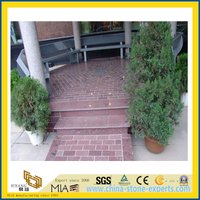 Polished Granite Tiles for Road/Wall/Garden Decoration