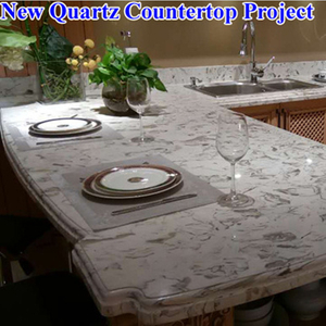 New Quartz Countertops for Kitchen