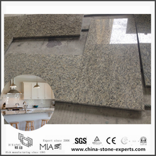 Inexpensive Bianco Taupe White Stone Granite Countertops for Kitchen (YQW-GC052406)