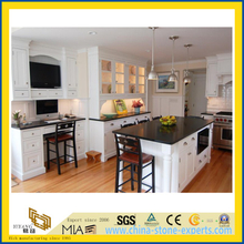 SGS China Absoutely Black Granite Countertops for Kitchen (YQW-GC1006)