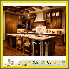 Cheap Yellow/Red/White/Grey Granite Stone Countertop for Kitchen / Hotel