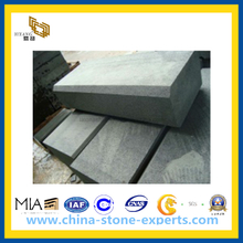 Flamed Finished Basalt Kerbstone for Outdoor Paving (YQW-BK125410)