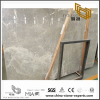 New Polished Las Grey Marble for Wall Background (YQN-101301)