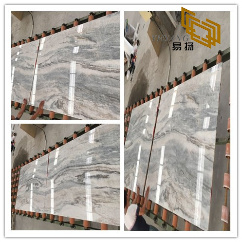 Colorful Vemont Gray Stone Marble for Wall Backgrounds & Floor Tiles (YQW-MS090706)