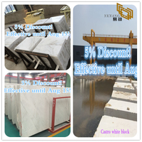 New Promotion -Castro White Marble from China Marble Factory (YQW-MSA072801)