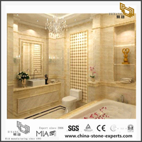 Oman Beige Marble for Background Decoration(YQN-083009)