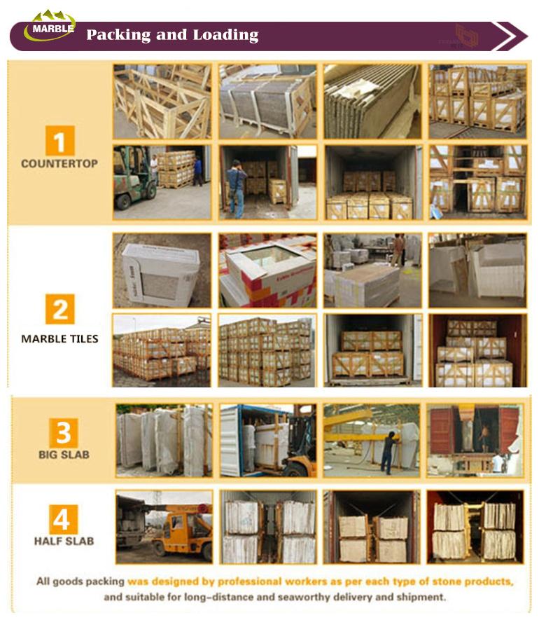 YEYANG Marble packing & loading