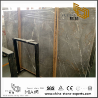 New Exclusive Las Grey Marble Slabs for Countertop and Wall / Floor Decor with cheap price (YQN-101303)