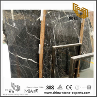 Grade A Quality Shangri-la Grey Marble for Kitchen,Bathroom Background (YQN-101402)