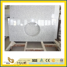 Polished G603 Granite Countertop for Bathroom/Kitchen