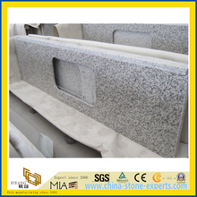 Polished Tiger Skin White Granite Vanity Top for Bathroom