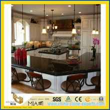 Hot Sale Absoutely Black Granite Countertops for Kitchen (YQW-GC1007)